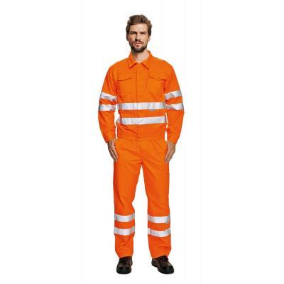 Výstražné odevy KOROS bunda