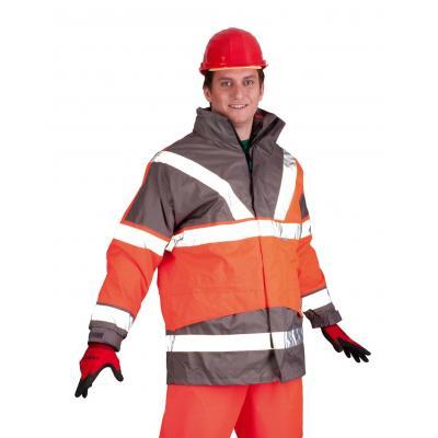 Výstražné odevy SKOLLFIELD 209A 4 v 1 bunda