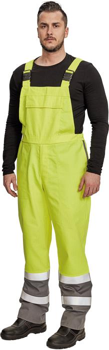 Špeciálne odevy BOGOTA nohavice s náprsenkou