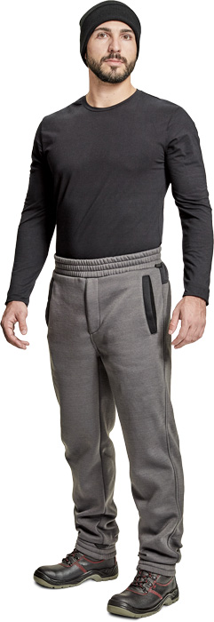 Nohavice do pása,Nohavice s náprsenkou CREMORNE tepláky
