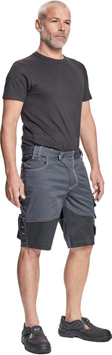 Nohavice do pása,Nohavice s náprsenkou NEURUM CLASSIC šortky