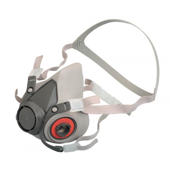 Polomasky 3M 6100-S, 6200-M, 6300-L halfmask