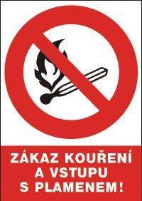 Ďalšie 12119 T.Zákaz kouř.a vstupu splam-bez.ta