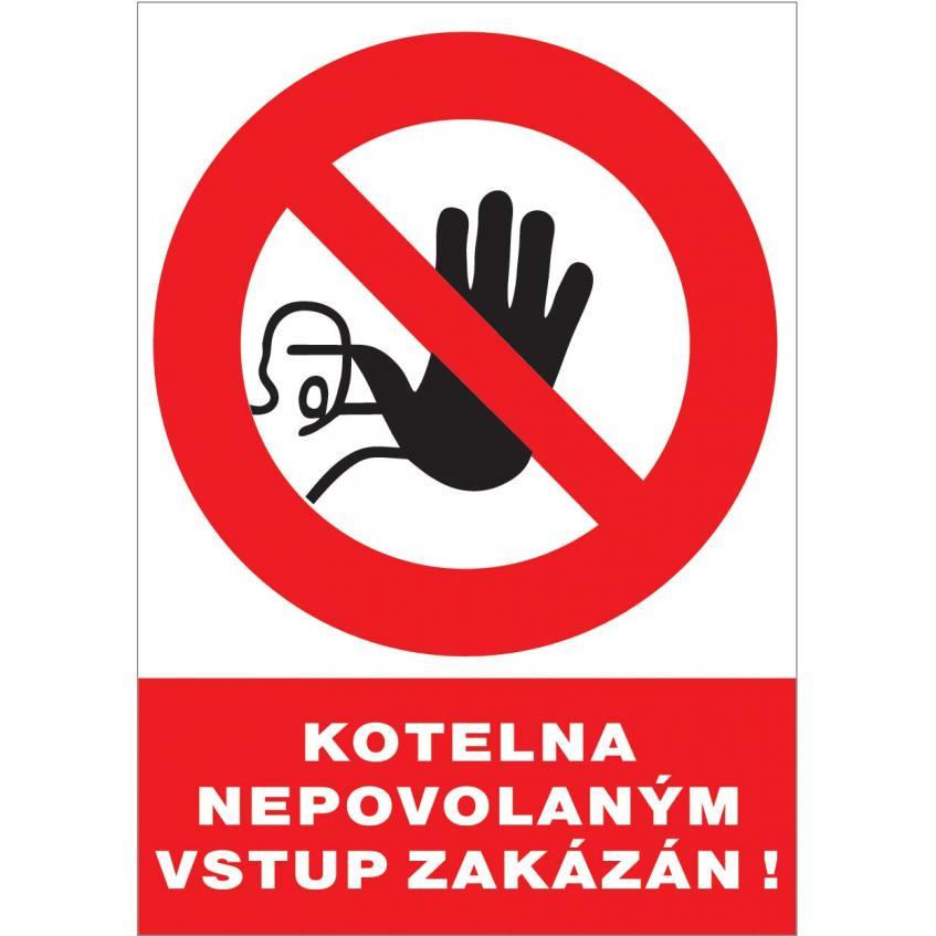 Ďalšie 12126 T.Kotelna Nepovol.vstup.zak.